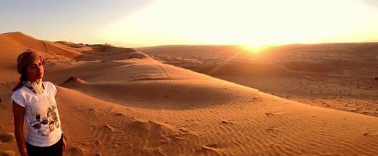Magia nel deserto: dal tramonto all'alba